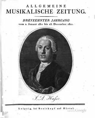 Allgemeine-Musikalische-Zeitung