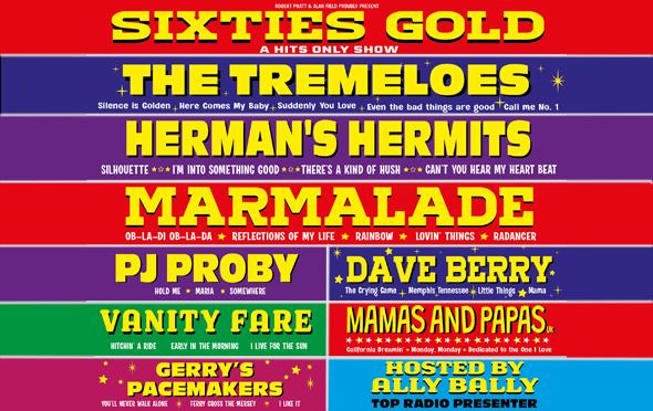 Sixties Gold Web